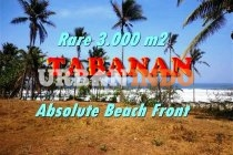 3.000 m2 with Ocean, Mountain and rice fields view in Tabanan Sele